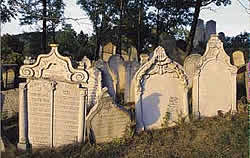 Jewish Cemetery in Mikulov, Czech Republic